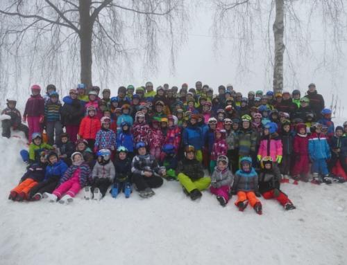 Skikurs in Langfurth abgehalten